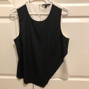 Banana Republic Black and White Tank Top